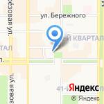Зоомаркет на карте Новомосковска