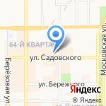 МиЛеди на карте Новомосковска