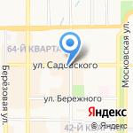 СДУ на карте Новомосковска