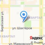 Пивная лавка на карте Новомосковска