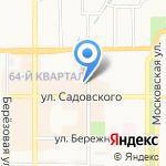 Ателье-магазин на карте Новомосковска