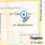 Айболит на карте Новомосковска