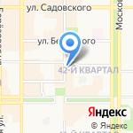 Ассорти на карте Новомосковска