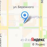 Мегаполис на карте Новомосковска
