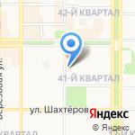 Бюро Мебели на карте Новомосковска