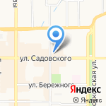 Швеймаркет на карте Новомосковска