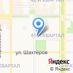 Локон на карте Новомосковска