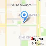 Экспресс кафе на карте Новомосковска