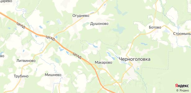 Ивановское на карте