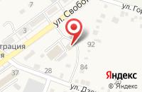 Схема проезда до компании Kids club в Ахтырском