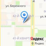 Спектр на карте Новомосковска