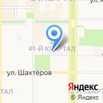 Сысоев тур на карте Новомосковска