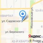 Любимый салон на карте Новомосковска