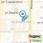 Центр образования №4 на карте Новомосковска