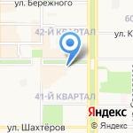 Банкомат на карте Новомосковска