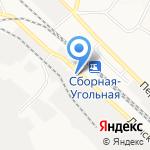 Новомосковскогнеупор на карте Новомосковска