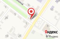 Схема проезда до компании КБ Кубань кредит в Ахтырском
