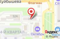 Схема проезда до компании Март в Новомосковске
