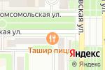 Схема проезда до компании Ташир в Новомосковске