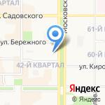 Отделение Управления Федеральной миграционной службы России по Тульской области в Новомосковском районе на карте Новомосковска