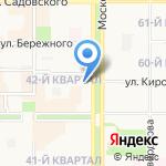 Всесезонная распродажа на карте Новомосковска