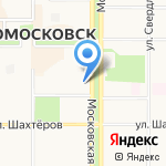 Нотариус Антипова О.А. на карте Новомосковска