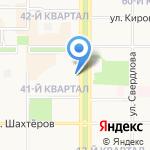 1xBET на карте Новомосковска