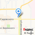 Моя оптика на карте Новомосковска