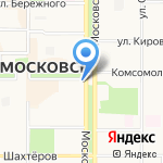 Two Monkeys на карте Новомосковска