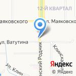 WHEELS на карте Новомосковска