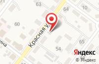 Схема проезда до компании Цельсий в Ахтырском