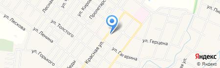 Цельсий на карте Ахтырского