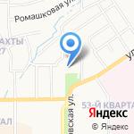 Азот на карте Новомосковска