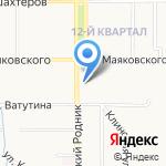 АвтоЗипМаркет 1 на карте Новомосковска