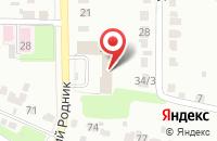 Схема проезда до компании Интерьер Плюс в Новомосковске