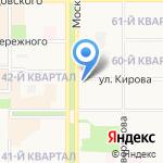 Минутка на карте Новомосковска