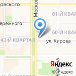 Инфотек на карте Новомосковска