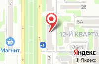 Схема проезда до компании Ритм в Новомосковске