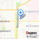 Vis-A-Vis на карте Новомосковска