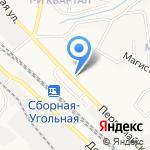 КРОВЕЛЬНЫЙ ЦЕНТР на карте Новомосковска
