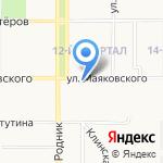 Маникюрный кабинет на карте Новомосковска