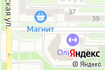 Схема проезда до компании Адмирал в Новомосковске
