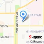 Ладошки на карте Новомосковска