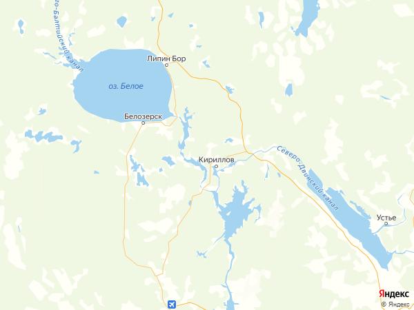деревня Ермаково на карте