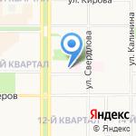 Арбитражное учреждение Тульский Областной-71 на карте Новомосковска