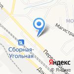Торговая компания на карте Новомосковска