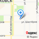 Новомосковский Н-ритуал на карте Новомосковска