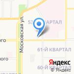 Арбатъ на карте Новомосковска