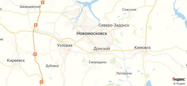131 автобус в Новомосковске