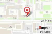 Схема проезда до компании Атлет в Новомосковске